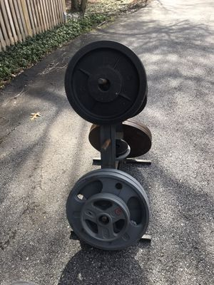 400 pound Olympic weight set for Sale in Rockville, MD