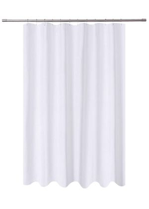 N&Y HOME Extra Long Shower Curtain Liner Fabric 72 x 96 inches, Hotel Quality, Washable, Water Repellent, White Spa Bathroom Curtains with Grommets, for Sale in Las Vegas, NV