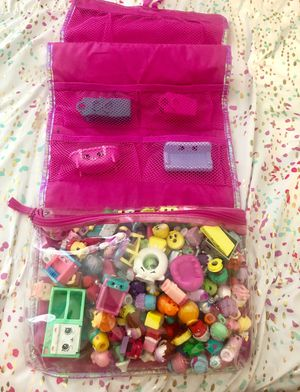 Shopkins - 200+ with carry bag for Sale in Fontana, CA