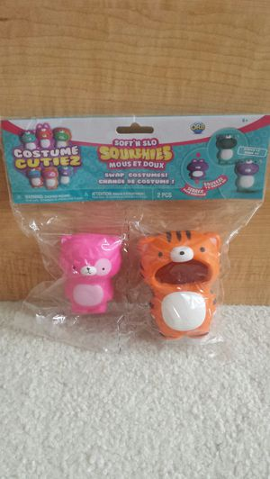 Brand New Soft 'N Slo Squishies Costume Cutiez for Sale in St. Petersburg, FL