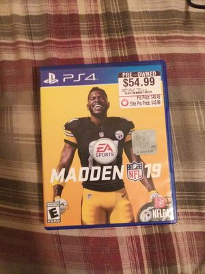 Madden 19 for Sale in Rockville, MD