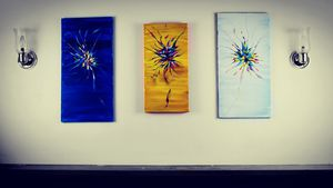 Original Abstract Flower Art for Sale in Bellevue, WA