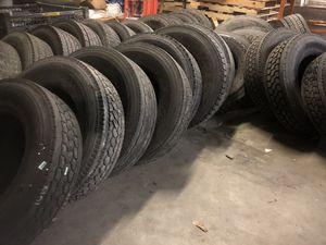 Used semi truck tires trailer tires tractor tires for Sale in Atlanta, GA