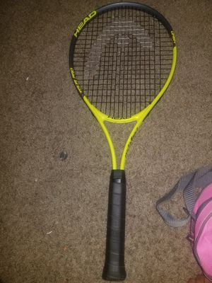 Tennis racket plus tennis balls and bag for Sale in Lanham, MD