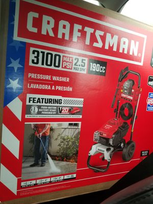 Brand New in box Craftsman 3100psi pressure washer for Sale in Willoughby, OH