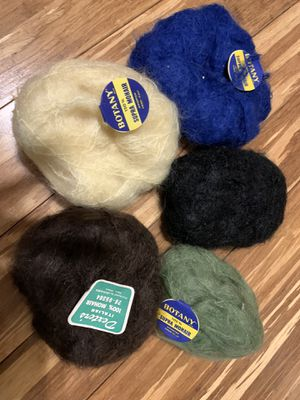 Vintage mohair knitting yarn for Sale in Painesville, OH