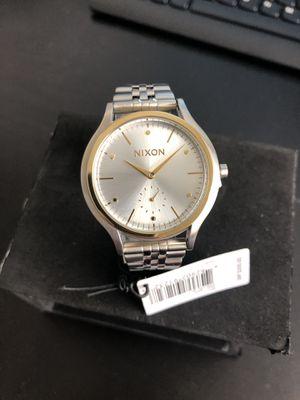 Nixon Sala Watch Silver/Gold - Women's for Sale in Poway, CA