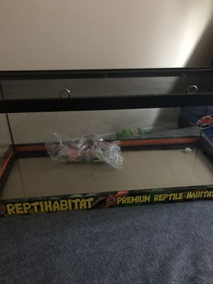 Reptile habitat aquarium for Sale in Lorton, VA