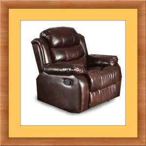 Burgundy recliner chair free delivery for Sale in Gambrills, MD