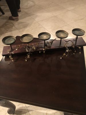 5 piece candle holder for Sale in Los Angeles, CA