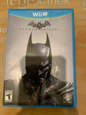 Batman Arkham Origins - Nintendo Wii U for Sale in El Monte, CA