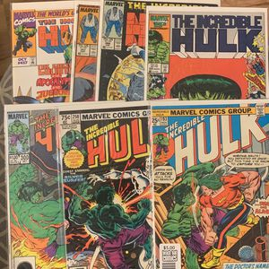 Marvel Comic Book Incredible Hulk Older Issues for Sale in Upland, CA