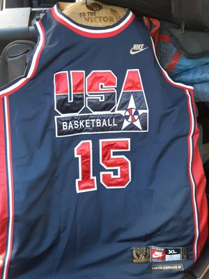 "Earvin ""Magic"" Johnson USA Basketball Jersey Dream Team Nike Authentic for Sale in Oak Hills, CA"