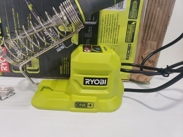 N763) Ryobi 18v 40w Soldering Iron ( Tool Only Sólo Herramienta)