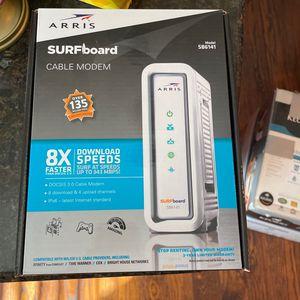 Arris surfboard SB6141 Modem for Sale in Dallas, TX