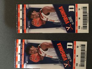 UVA tickets for Sale in University, VA