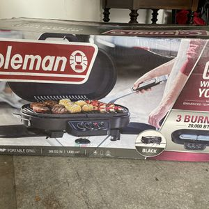 Coleman Portable Grill 285 for Sale in Lathrop, CA