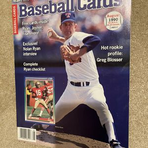 Rare vintage Baseball Card magazines 80s & 90s for Sale in Mercer Island, WA