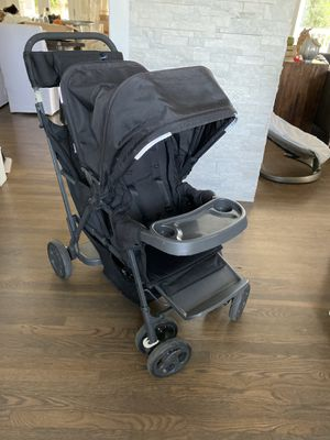 Joovy caboose too ultralight tandem stroller double stroller for Sale in Long Beach, CA