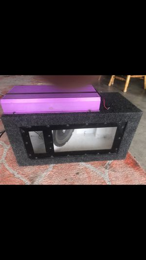 Sub box for Sale in Bakersfield, CA