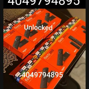 Amazon Firesticks With Alexa Voice Remote Control Commands!!!! for Sale in Atlanta, GA