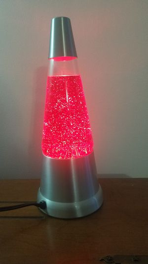 Red glitter lamp for Sale in Manassas, VA