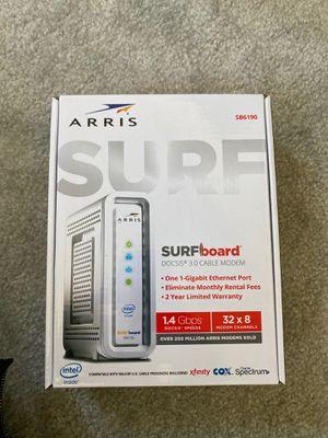 Arris Surfboard Modem - 32X8 1-Gigabit Down for Sale in Henderson, NV