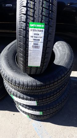 St225 75 r15 trailer tires 4new 10ply$220 for Sale in Escondido,  CA