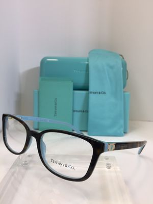Tiffany & CO. TF 2094 8134 Brown plastic Eyeglasses 52mm for Sale in Alhambra, CA