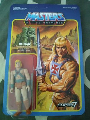 Super 7 Masters of the Universe MOTU He-Man Action Figure 2015 for Sale in Los Angeles, CA