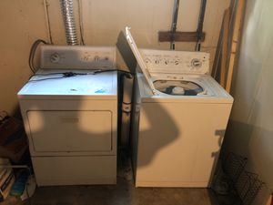 Kenmore washer and electric dryer for Sale in St. Louis, MO