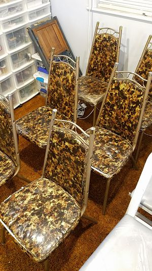 1960's kitchen chairs and table for Sale in Portsmouth, VA