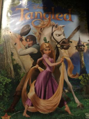 Disney Tangled DVD, new for Sale in Plainfield, IL