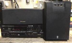 Stereo receiver surround sound for Sale in Corona, CA