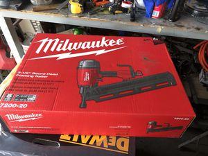 Milwaukee nail gun for Sale in Mesa, AZ