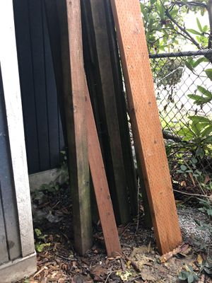 Free pressure treated wood for Sale in Seattle, WA