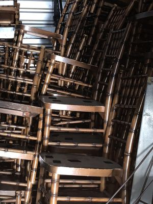 Mahogany Wooden Brown Chiavari Chairs for Sale in Dallas, TX