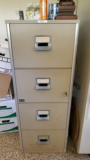 Victor 4 drawer fireproof file cabinet for Sale in San Diego, CA