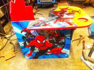 KIDS SPIDERMAN DESK for Sale in Bakersfield, CA