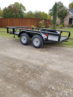 New Pipe Top 12ft trailer for Sale in Lewisville, TX