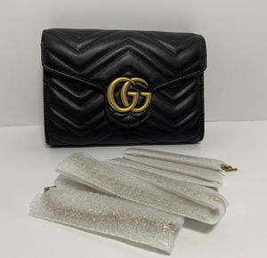 Gucci GG Marmont Matelassé Leather Wallet on a Chain for Sale in Phoenix, AZ