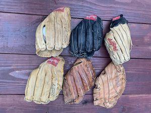 Rawlings baseball or softball gloves for Sale in DeLand, FL