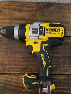 Dewalt Xr 20v Hammer Drill 3speeds 🛑PRECIO FIRME NADA MENOS for Sale in Houston,  TX
