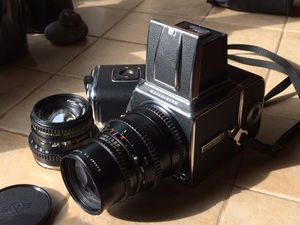 Hasselblad 500 C/M camera and lenses for Sale in Clackamas, OR