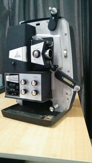 Sears Tower Super Automatic 8mm Film Projector and Screen for Sale in Warren, MI