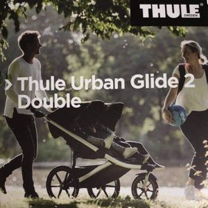 NEW THULE STROLLER URBAN GLIDE 2 DOUBLE BLACK for Sale in Tempe, AZ