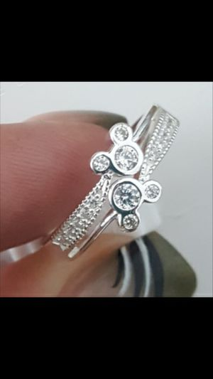 Sterling Silver 925 Mickey Ring size 6 for Sale in Kissimmee, FL