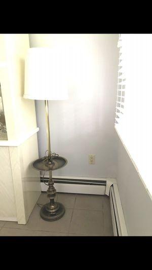 Floor Lamp. High. Heavy Metal. for Sale in Rahway, NJ