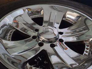 "Wheels and tires lt 305/55r20"" 8 lug Silverado Yukon suburban gmc trucks, 8x6 5 for Sale in Riverside, CA"
