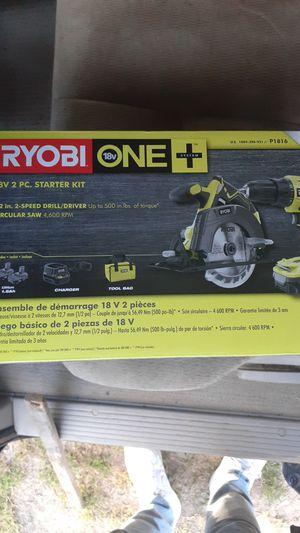 Super Akku Drill & Circular Saw ‼ new ‼RYOBI for Sale in Atlanta, GA